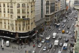 Madrid cerrará la Gran Vía al tráfico estas Navidades