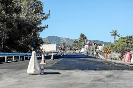 El Consell recepciona las obras de la carretera de Sant Joan