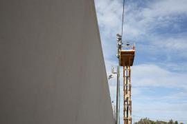 Nuevas gradas para el Campo Municipal de Sant Francesc