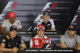 Tercer mejor tiempo para Alonso en la primera jornada de entrenamientos de Abu Dabi