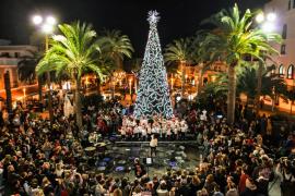 Santa Eulària dará la bienvenida a la Navidad este viernes con el tradicional encendido de luces