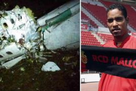 Cléber Santana, ex jugador del Mallorca, entre las víctimas del avión estrellado