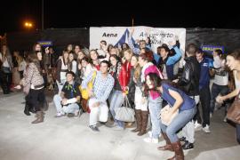 200 jóvenes turistas por un día