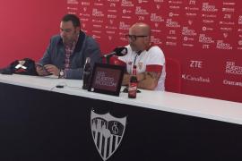 Jorge Sampaoli: «Esperamos no incomodar mucho al entrenador del filial»