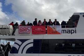 El Sevilla ya está en las Pitiusas para medirse al Formentera