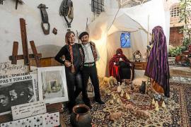 El tradicional belén de Traspas y Torijano ya luce en Dalt Vila