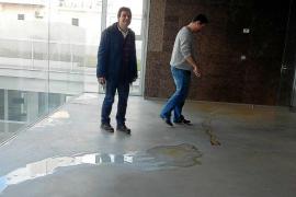 Educació actuará por las inundaciones en el Conservatorio, pero no por la calefacción