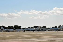 Aena recibe el visto bueno del Consell para la ampliación de la plataforma de jets privados