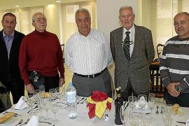 Encuentro de miembros de la Asociación de Infantes de Mallorca en el Club Es Fortí
