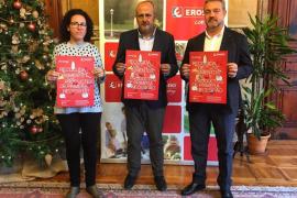 Margalida Puigserver, Miquel Ensenyat y Alfredo Herráez