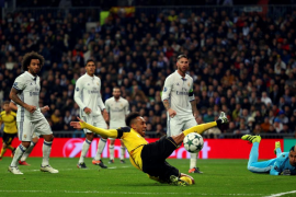 El Madrid empata ante el Borussia Dortmund y queda segundo