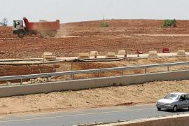 El Govern balear reserva 600.000 euros para retirar las tierras de la autovía del aeropuerto