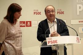 Francina Armengol evita dar apoyo directo a Sánchez tras ser su gran aliada