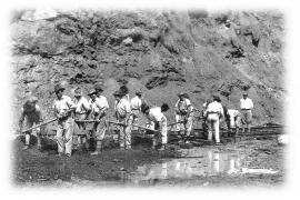 Ibicencos que construyeron el canal de Panamá