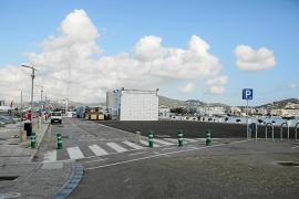 Preocupación entre los comerciantes del puerto por el retraso de las obras en es Martell