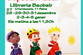 Taller de plastilina navideño en Baobab