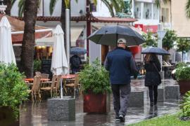 Un temporal provocará este fin de semana lluvias intensas y mala mar en el Mediterráneo