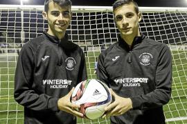 Álex y Claverías, dos jóvenes talentos que pisan fuerte en la Peña Deportiva