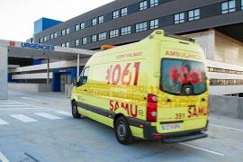 Un bebé de 21 meses está crítico tras un accidente en Sant Josep