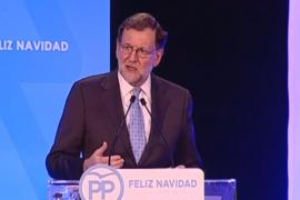 Rajoy, en una cena con militantes: «Ya preparando las próximas elecciones»