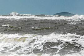 Los últimos coletazos del temporal dejan 75 litros en Vila y 67 litros en Formentera