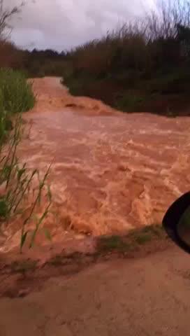 El río de Santa Eulària, el único de Balears, resurge con fuerza gracias a las lluvias