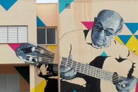 El Medusa Festival llena de arte urbano cuatro centros escolares de la isla