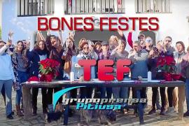Más de 5.000 personas ya han visto el vídeo navideño de la TEF