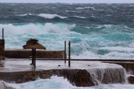 Baleares, en alerta naranja por viento