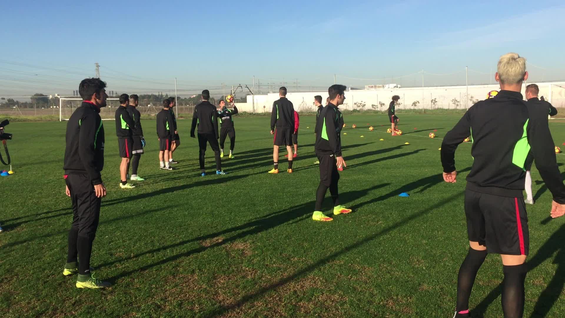 El SD Formentera comienza su entrenamiento en Sevilla