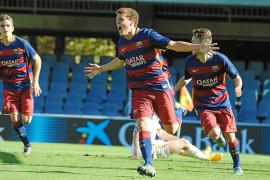 El joven ibicenco Jordi Tur se entrena con el primer equipo del Barça