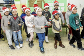 Postales navideñas de Cas Serres para los pacientes del hospital Can Misses