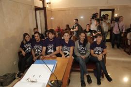 Los condenados por la protesta feminista en Sant Miquel recurren ante el Tribunal Supremo