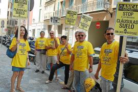 Más de 82.000 afectados en Baleares por cláusulas suelo pueden recuperar el dinero