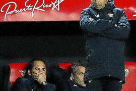 Jorge Sampaoli: «El equipo a full, pero con mucho respeto»