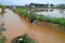 El temporal ha afectado a más de una decena de caminos en Sant Antoni