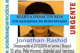 Hallan en buen estado a un niño de 11 años desaparecido en Burgos