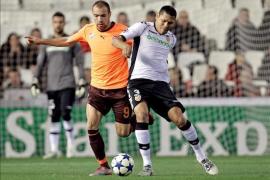 El Valencia firma, con media docena de goles, su pase a los octavos (6-1)