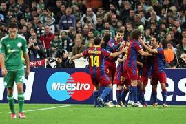 El Barça se clasifica para octavos con un recital de Iniesta (0-3)