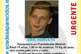 La Policía busca a un niño de 15 años desaparecido en Madrid