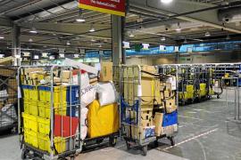 Los envíos de paquetería en Balears crecen un 75 % por las ventas 'on line'
