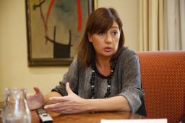 Armengol dice que el PSOE «tiene problemas internos evidentes»