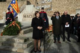 El independentismo llama a culminar la «república catalana» que «soñó» Francesc Macià