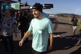 Alonso espera «dar alegrías la próxima temporada»