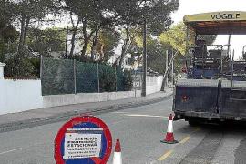 Santa Eulària ejecutará en 2017 la ampliación de la carretera de Es Canar