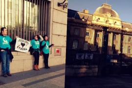Detenidos siete independentistas vascos en París por apoyar a los presos de ETA