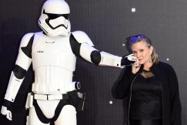 Fallece Carrie Fisher, la princesa Leia en 'Star Wars'
