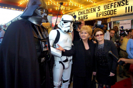Los actores de 'Star Wars' expresan su «tristeza» por la muerte de Carrie Fisher