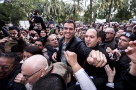 Pedro Sánchez: «Entre todos haremos posible la recuperación del PSOE»