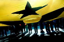 Peligra la mayoría independentista en Cataluña, según el último sondeo